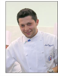 Chef Nicola vizzari